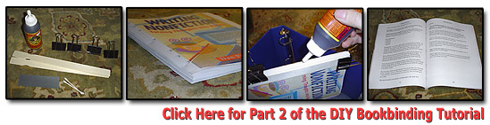 DIY Bookbinding Tutorial Part 2