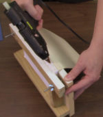 Basic DIY Bookbinding Demonstration with Hot Glue Gun [VIDEO]
