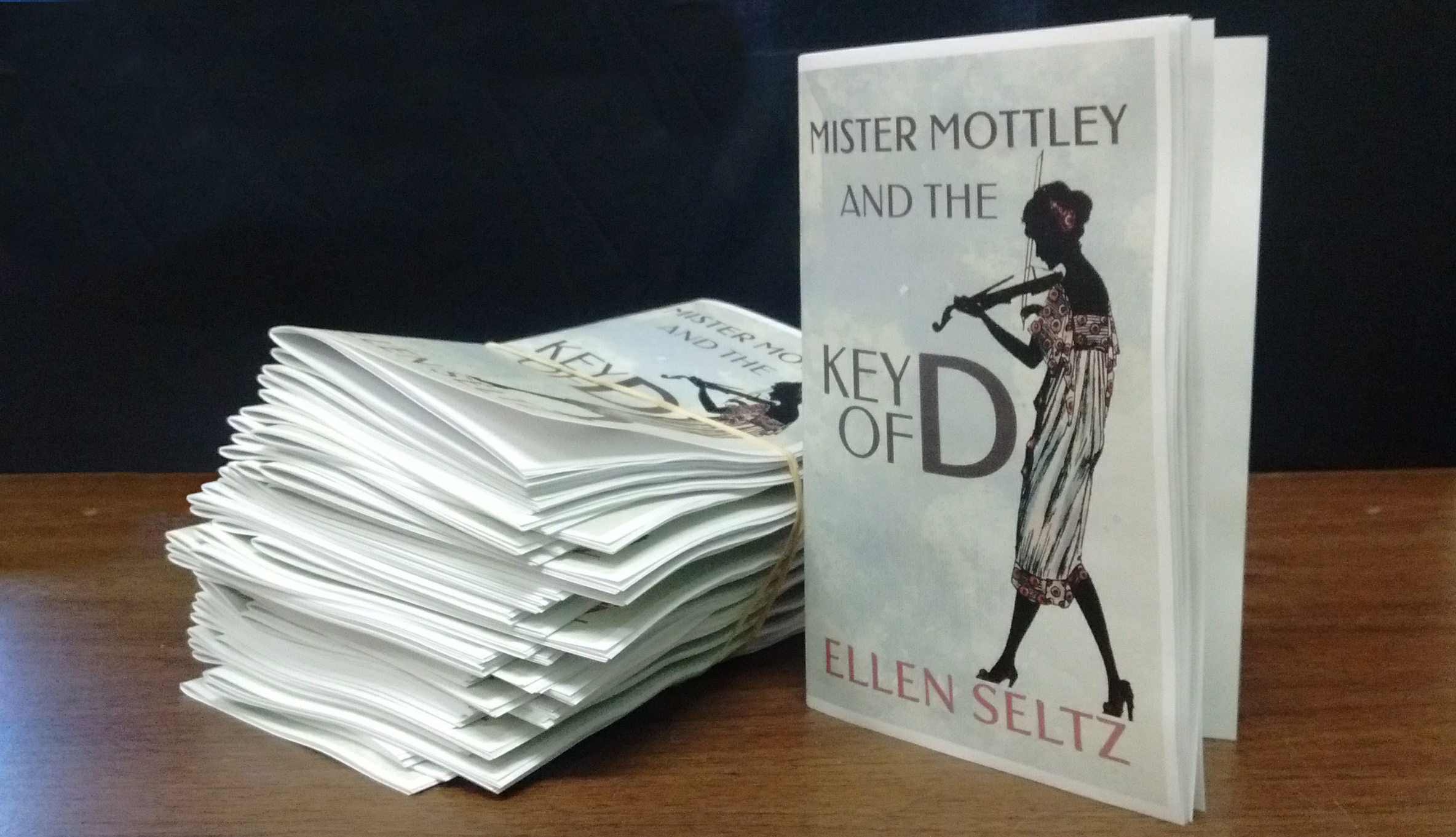 Mister Mottley and the Key of D, by Ellen Seltz